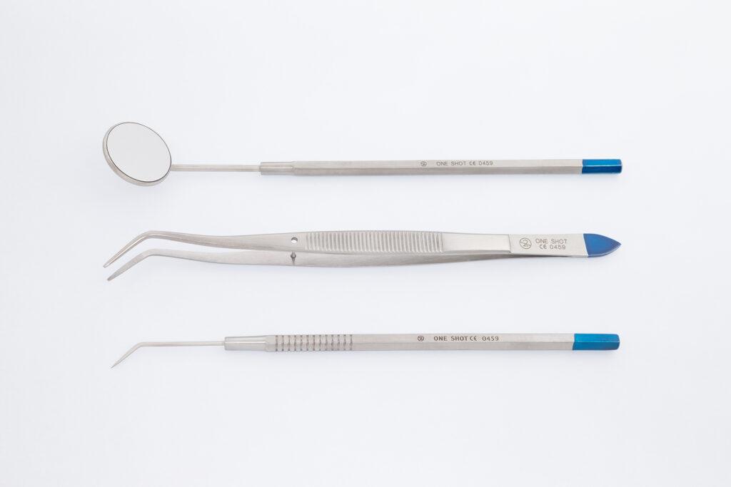 Sets dentaire examen